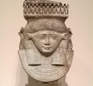 Head of a Hathor / Sistrum / Museum Seattle