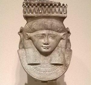 Head of a Hathor / Sistrum / Museum Seattle